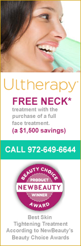home page ultherapy month ad
